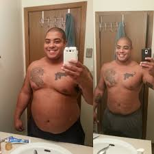 weight loss brown boy